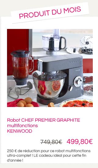 PROMO Robot Chef Premier Graphite + Bol Multipro - KENWOOD